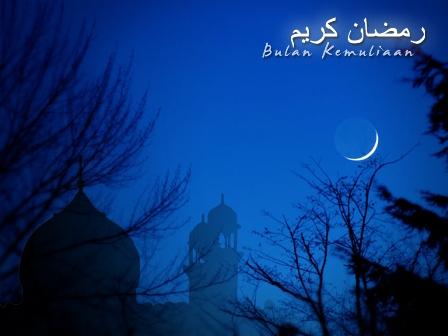 Gambar Bulan Ramadan Bulan Puasa