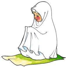 muslimah-pray