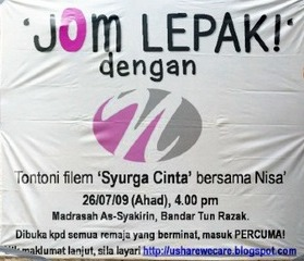 Poster+Nisa'+JOM+Lepak!