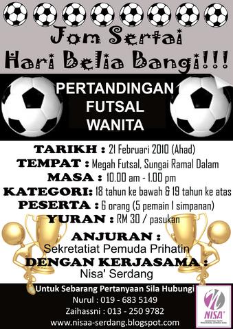Flyers Futsal Copy Pasak Istiqomah
