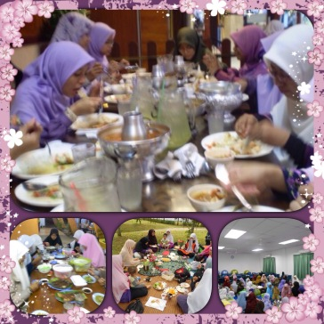 makan-makan with geng purple ;)